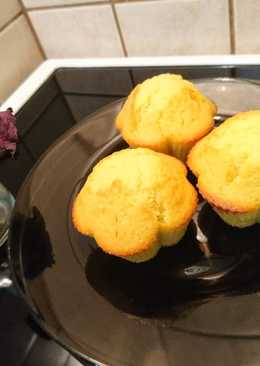 Vaníliás - kókuszos muffin