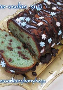Curacaos-csokis süti (Gluténmentesen is)