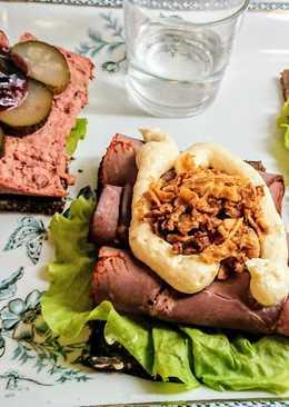 """Svéd 🇸🇪 / Dán 🇩🇰 Vendégváró szendvics II. """"Smørrebrød"""""""