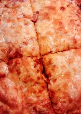 Kelesztés nélküli pizza