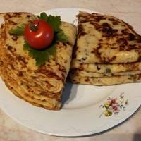 Sonkás-sajtos-hagymás palacsinta, Ancsyka-módra