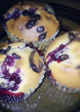 Szedres-csokis muffin
