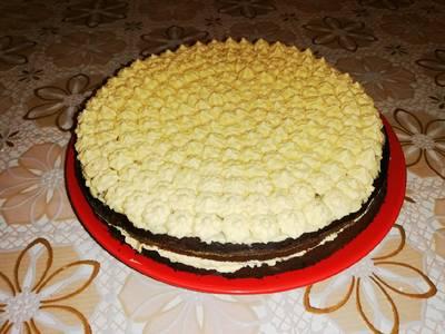 Sütőtökös csokoládés torta