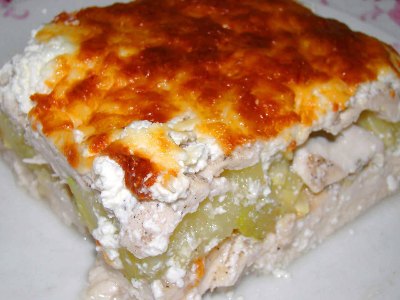 Cukkinis csirkemell recept főfotó