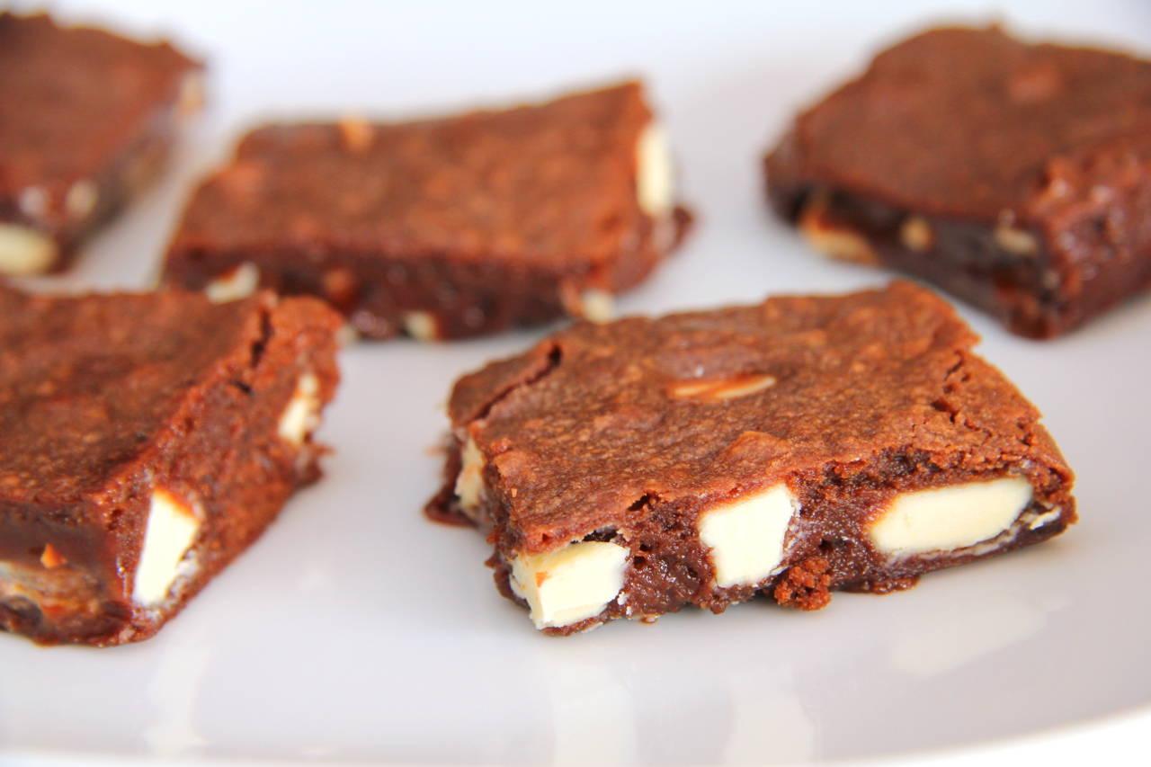 Nutellás-fehér csokoládés brownie recept főfotó
