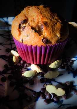Kardamonos, banános, csokis muffin