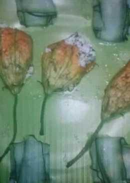 Töltött cukkinivirág