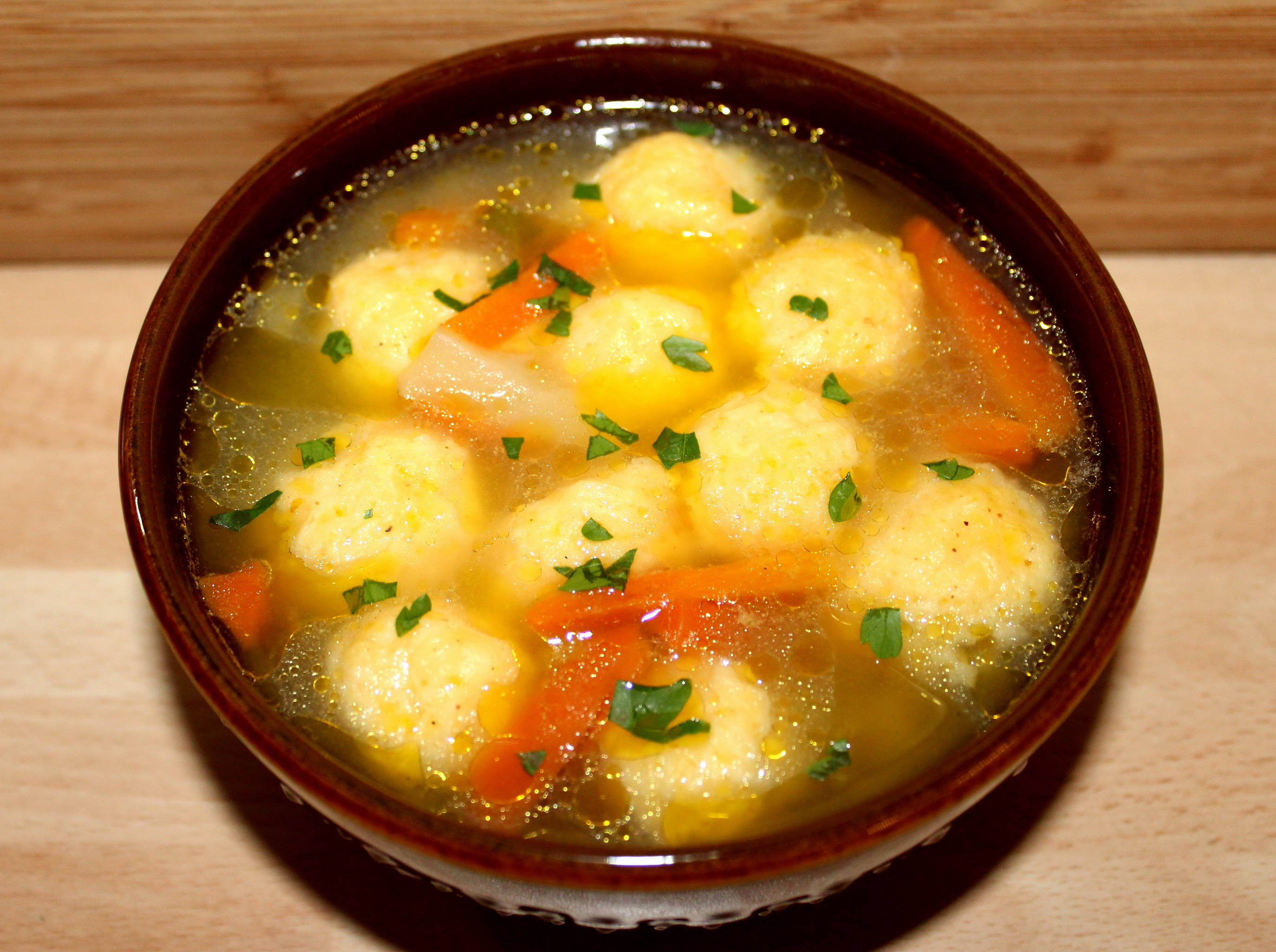 Sajtgombóc leves recept főfotó