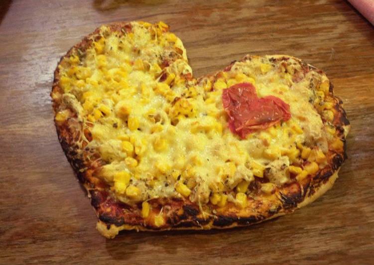 Valentin napi pizza