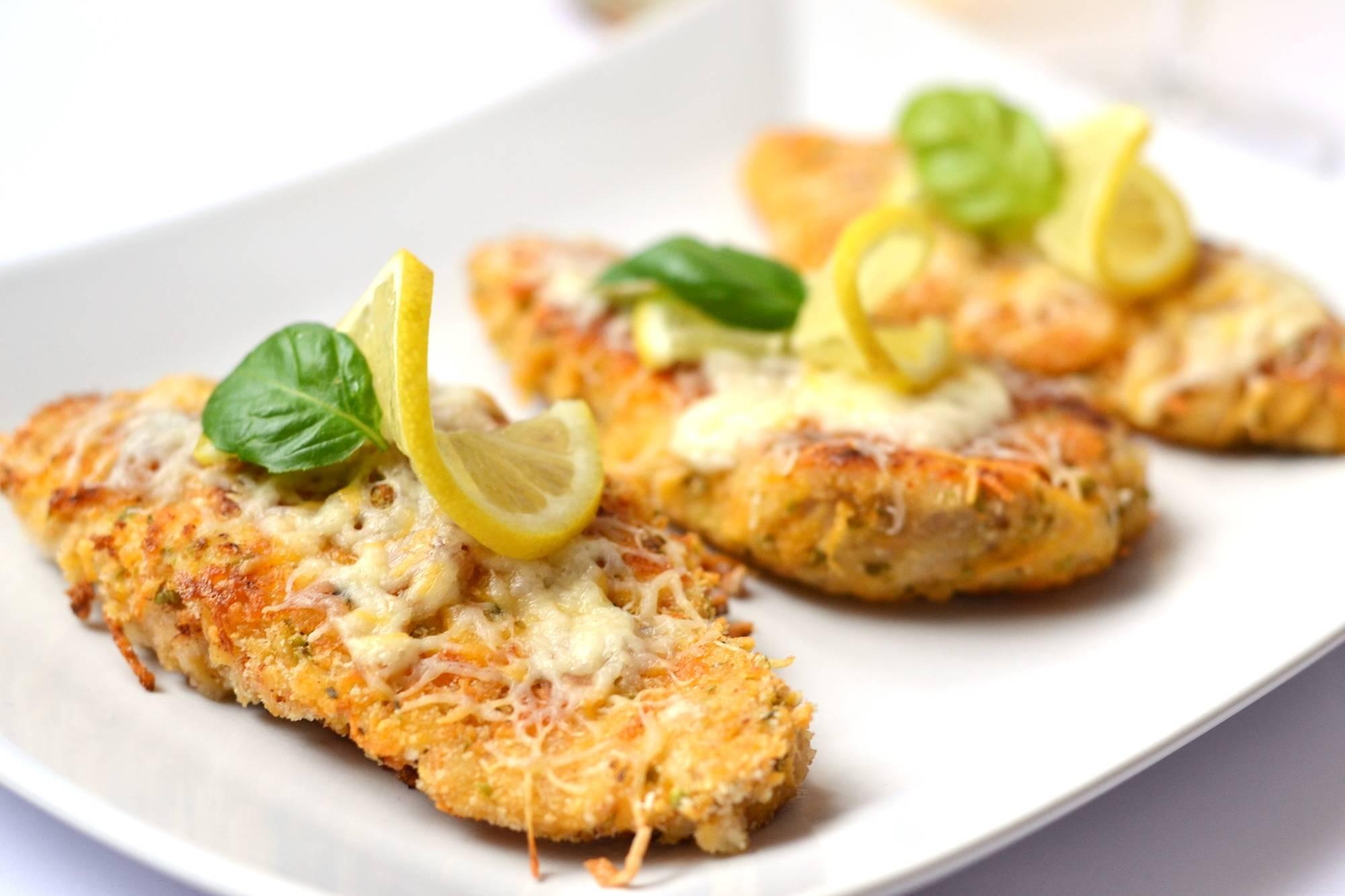 Citromos-cheddaros csirkemell recept főfotó