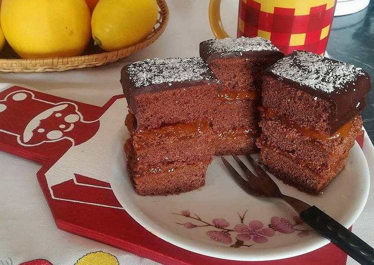 Csokis-sárgabarackos süti