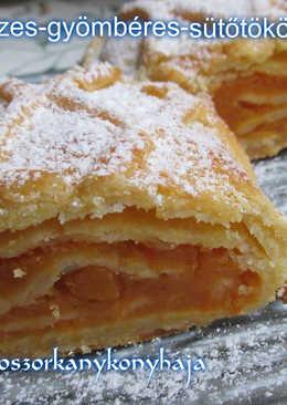 Tiroli mézes-gyömbéres-sütőtökös rétes (Gluténmentesen is)