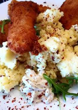 Rántott hal Chili 🌶 pelyhes krumplipürével