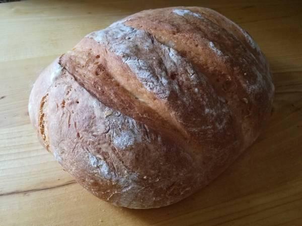 Ropogós házi fehér kenyér