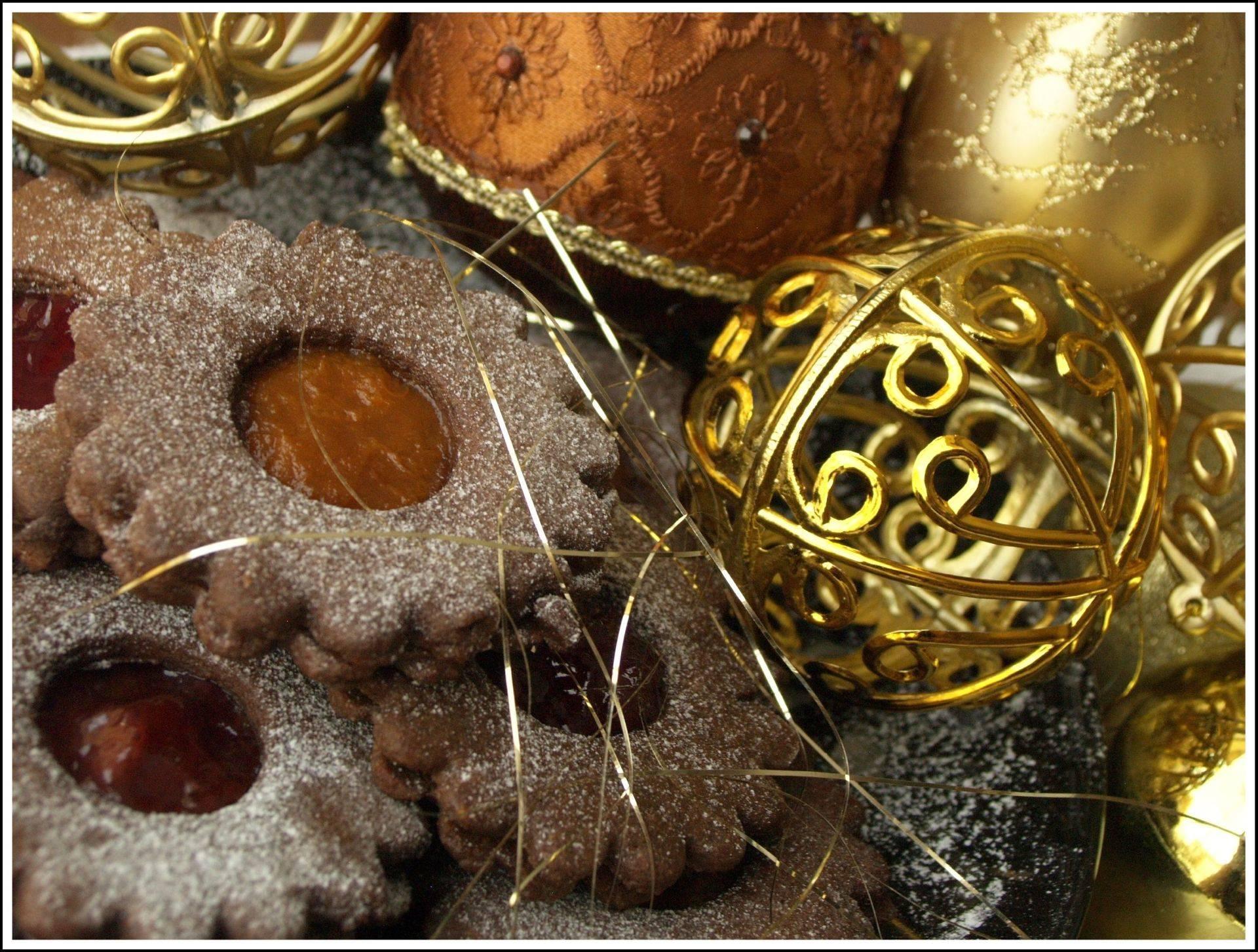 Kakaós-mandulás linzer recept főfotó