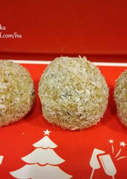 Karácsony ízű sütőtökgolyók (reform)