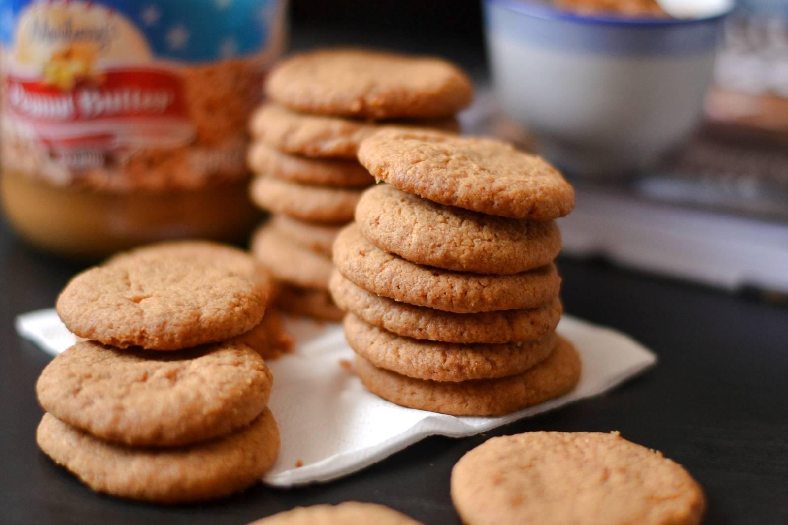 Mogyoróvajas keksz recept főfotó