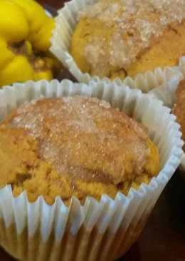 Amerikai, fahéjas, sütőtökös muffin    (Cinnamon Sugar Pumpkin Muffin)