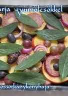 Sült tarja gyümölcsökkel