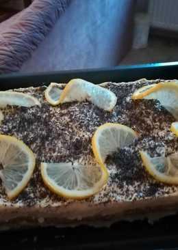 Mákos piskóta citromkrémmel