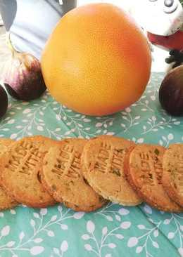 Mandulás - pisztáciás kekszek (cukor nélkül, diétásan)
