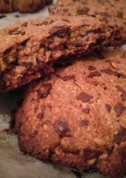 Egyszerű paleo csokis keksz