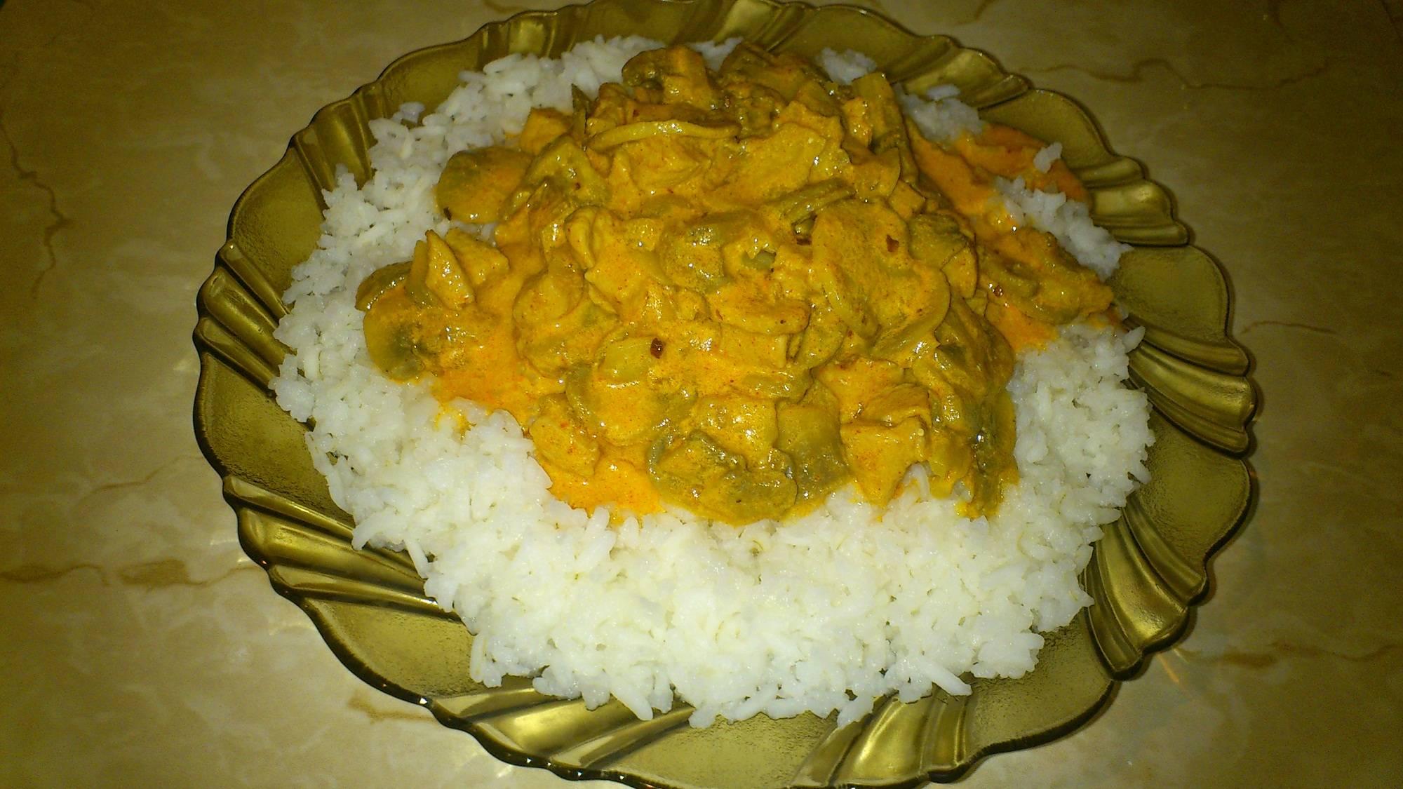 Bakonyi gombás rizs recept főfotó