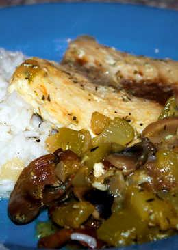 Tengeri hal recept tökös-gombás raguval