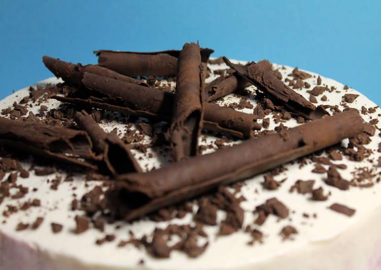 Szedres-túrós csokoládé torta