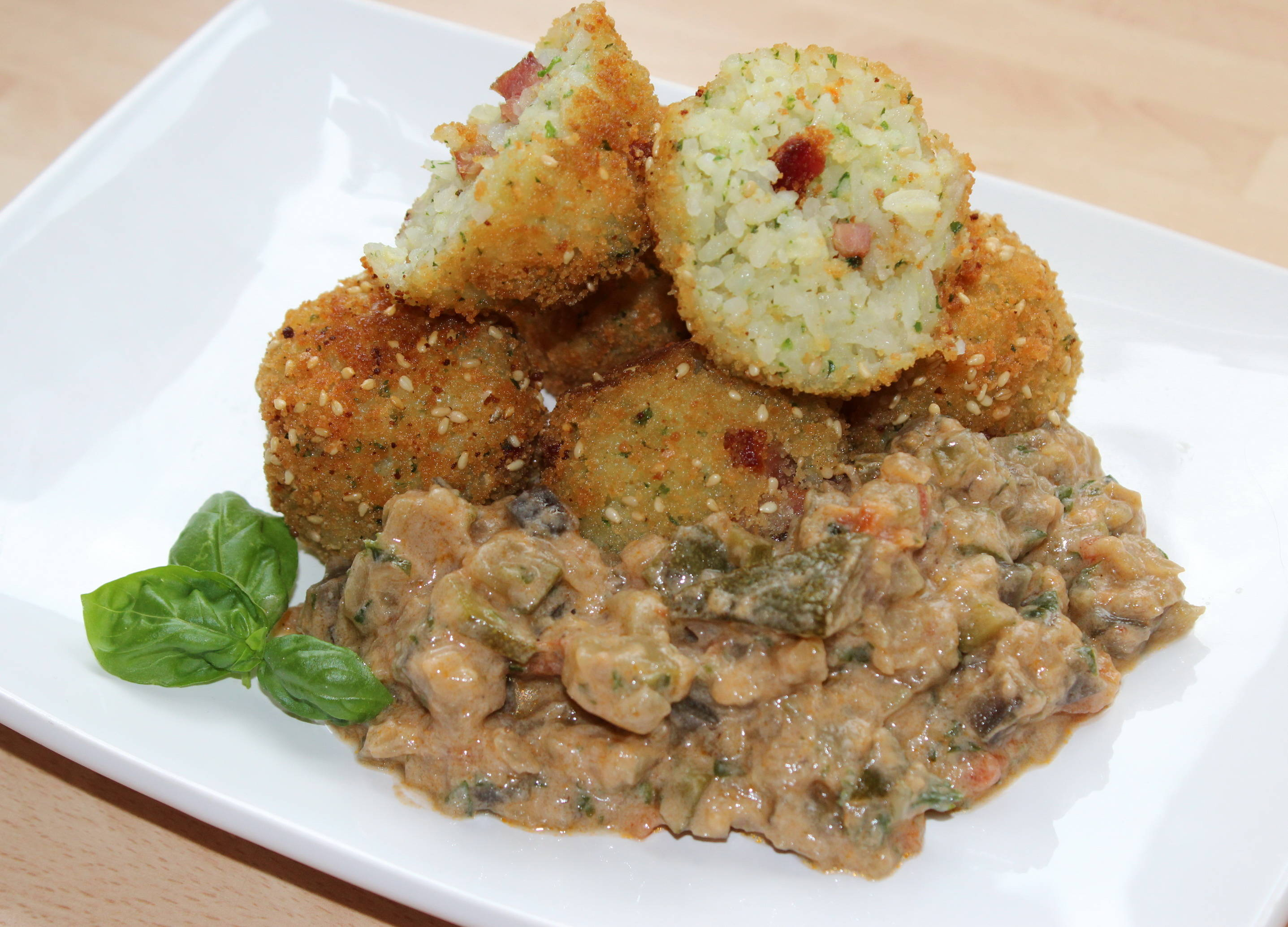 Tejszínes zöldségragu recept főfotó