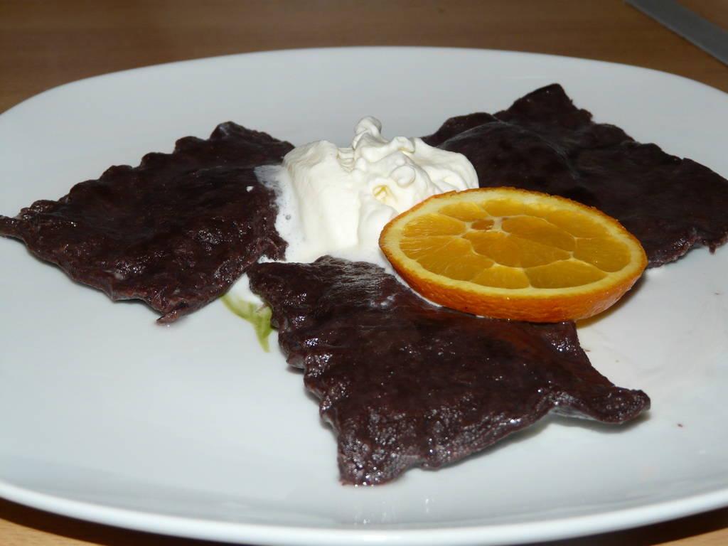 Kakaós-narancsos ravioli recept főfotó