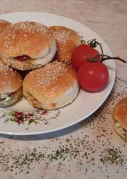 Ricottás-paradicsomos bucik a sütőből #piknik