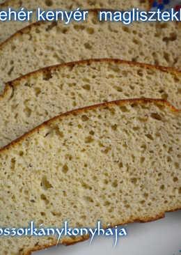 Gyors fehér kenyér, maglisztekből (Gluténmentes)