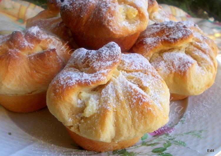 Túrós batyu, muffin formában