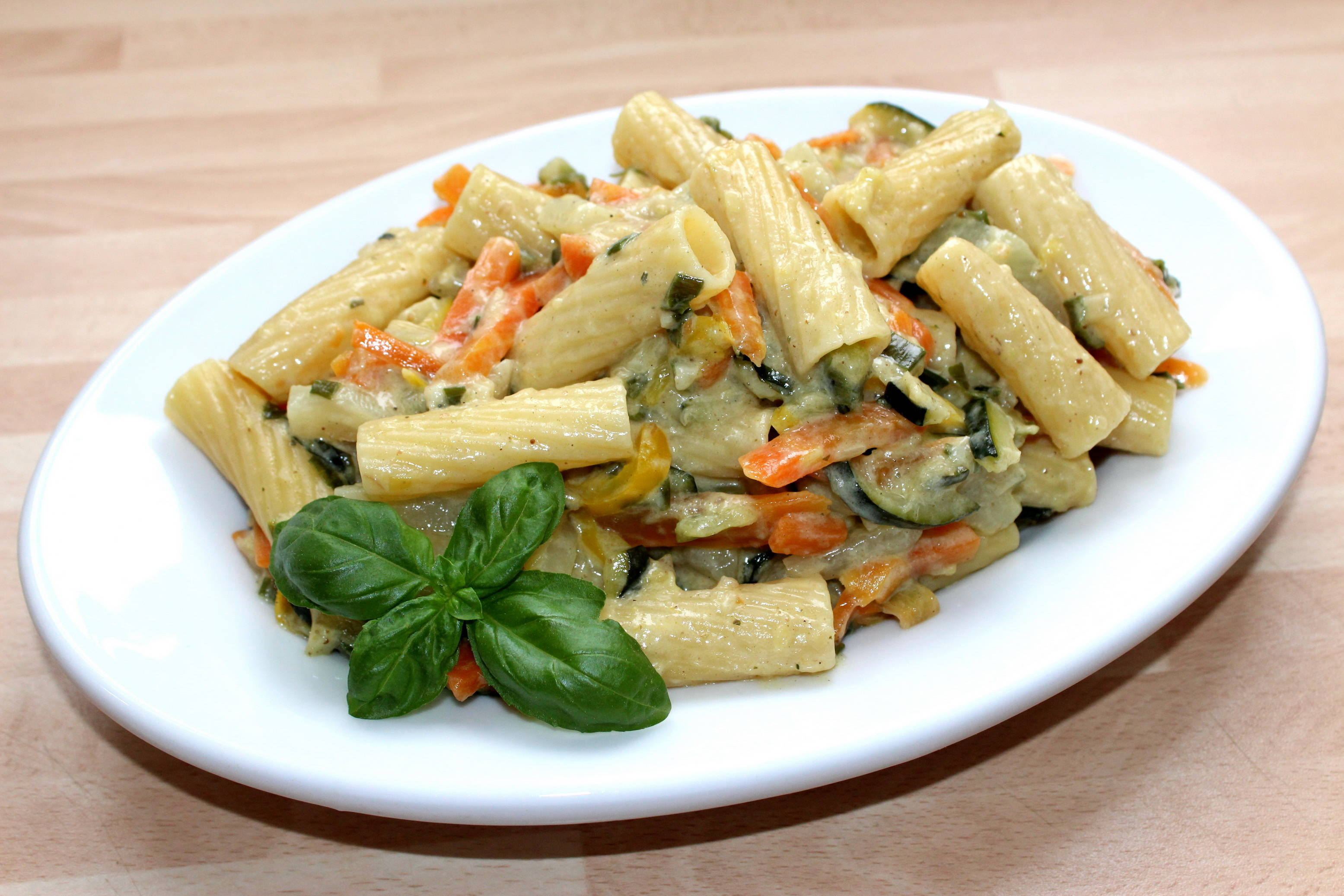 Egyedényes zöldséges tészta recept főfotó
