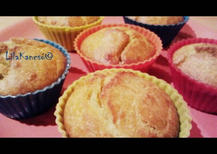Zöldpestós muffin (sós)