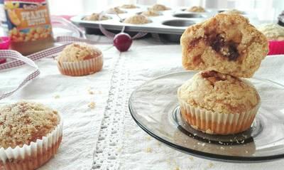 Mogyorós-lekváros muffin