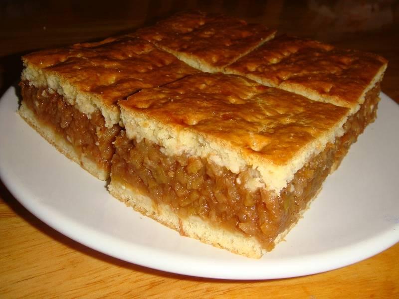 Házi almás pite recept főfotó