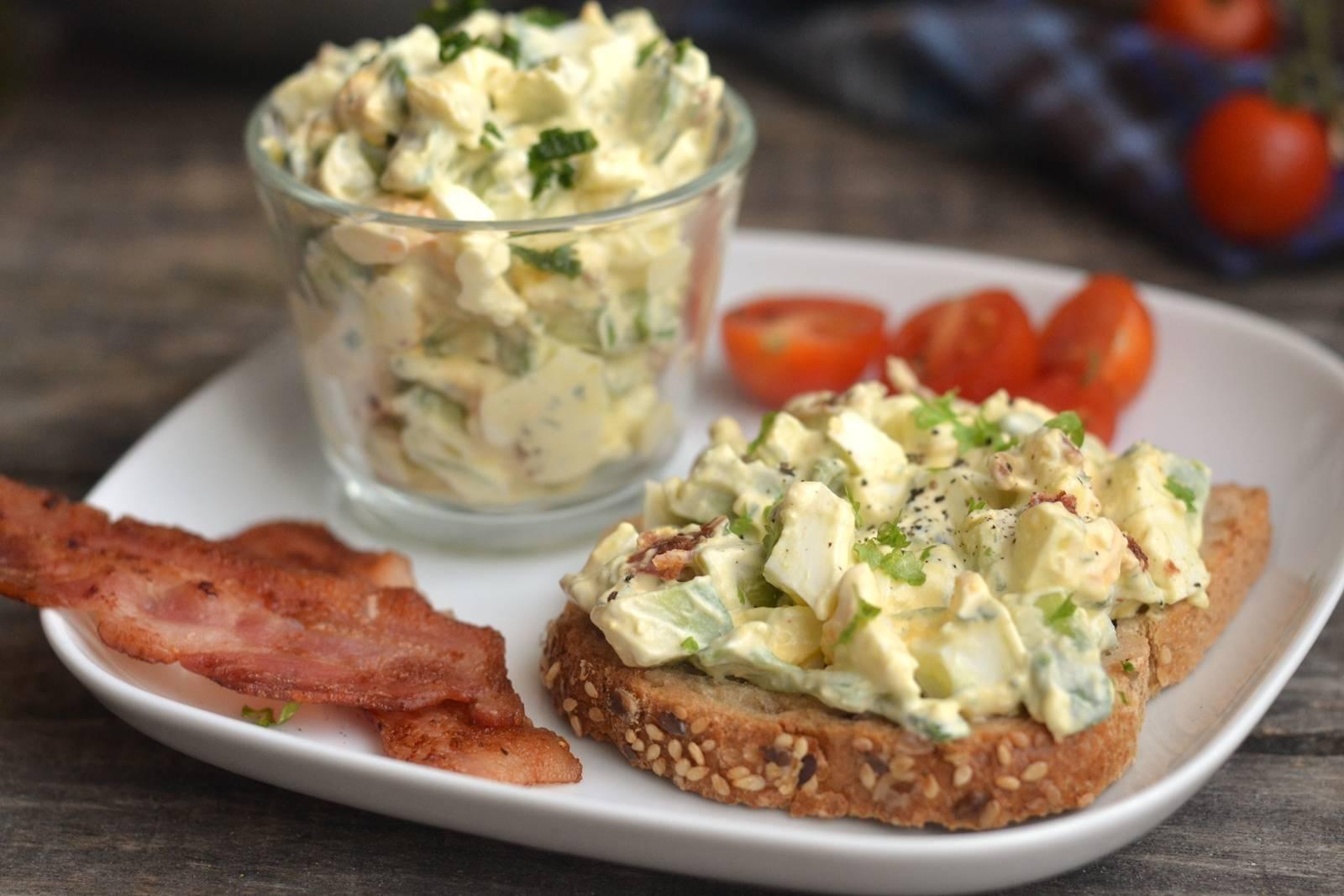 Avokádós tojássaláta recept főfotó