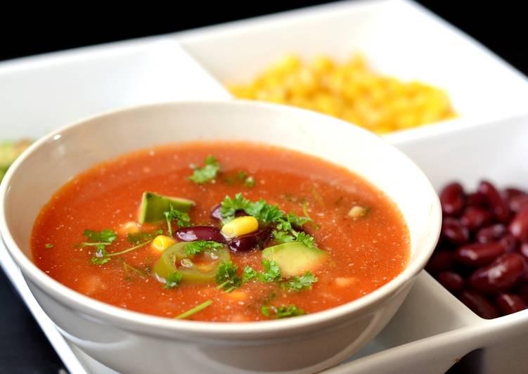 Mexikói paradicsomos leves