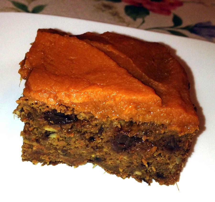 Sárgarépa - cékla torta citromos sütőtök krémmel főfotó