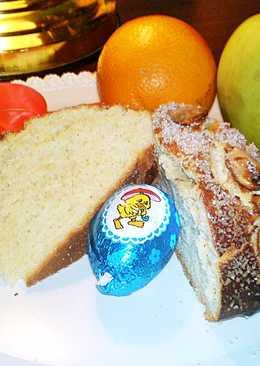 Mazanec - cseh húsvéti hagyományos édes kelt sütemény