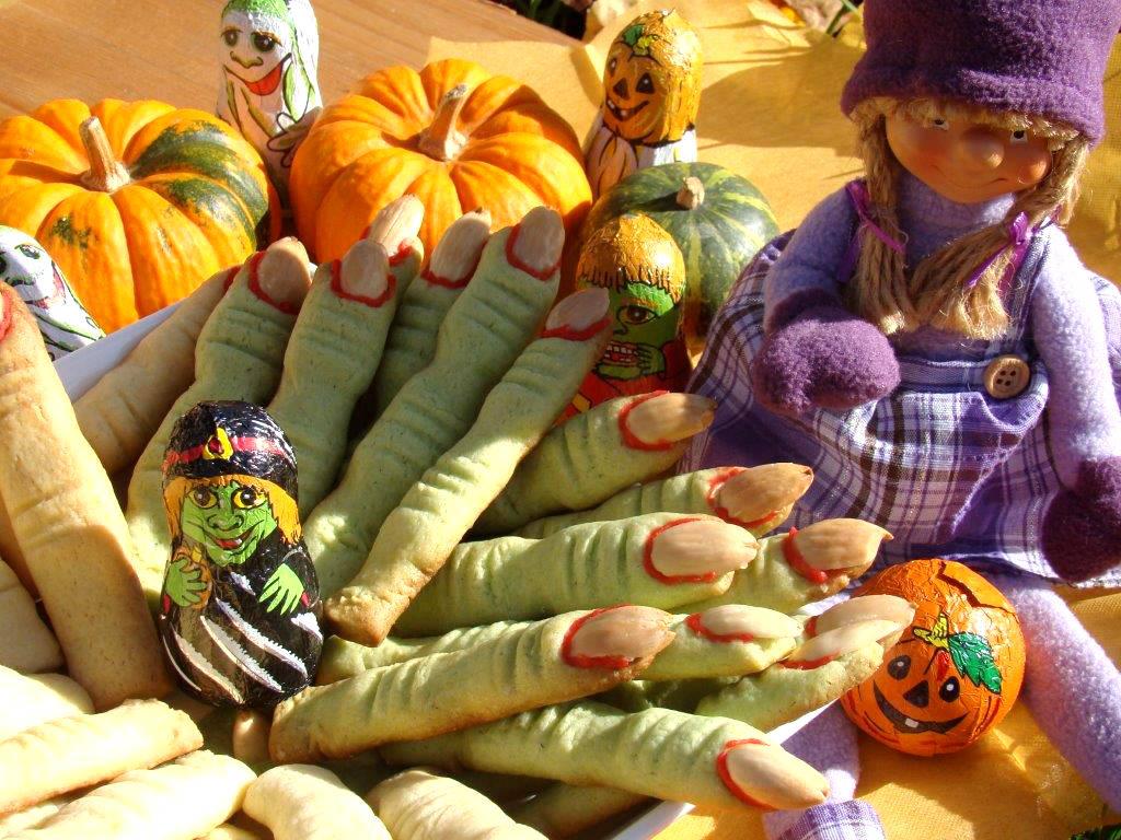 Halloween boszorkány ujjak recept főfotó