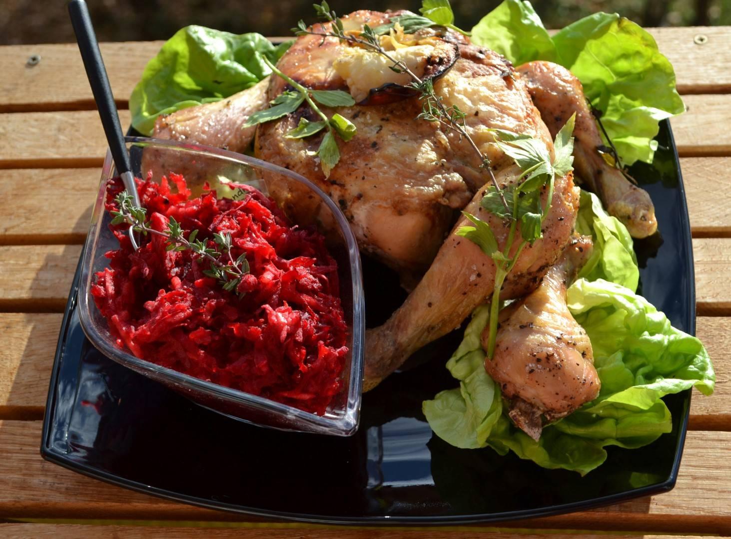 Sóágyon sült almás csirke recept főfotó