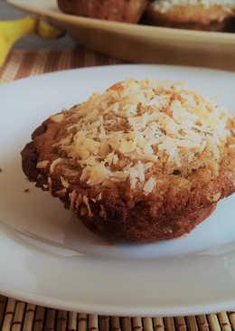 Banános-rizses muffin (cukormentes)