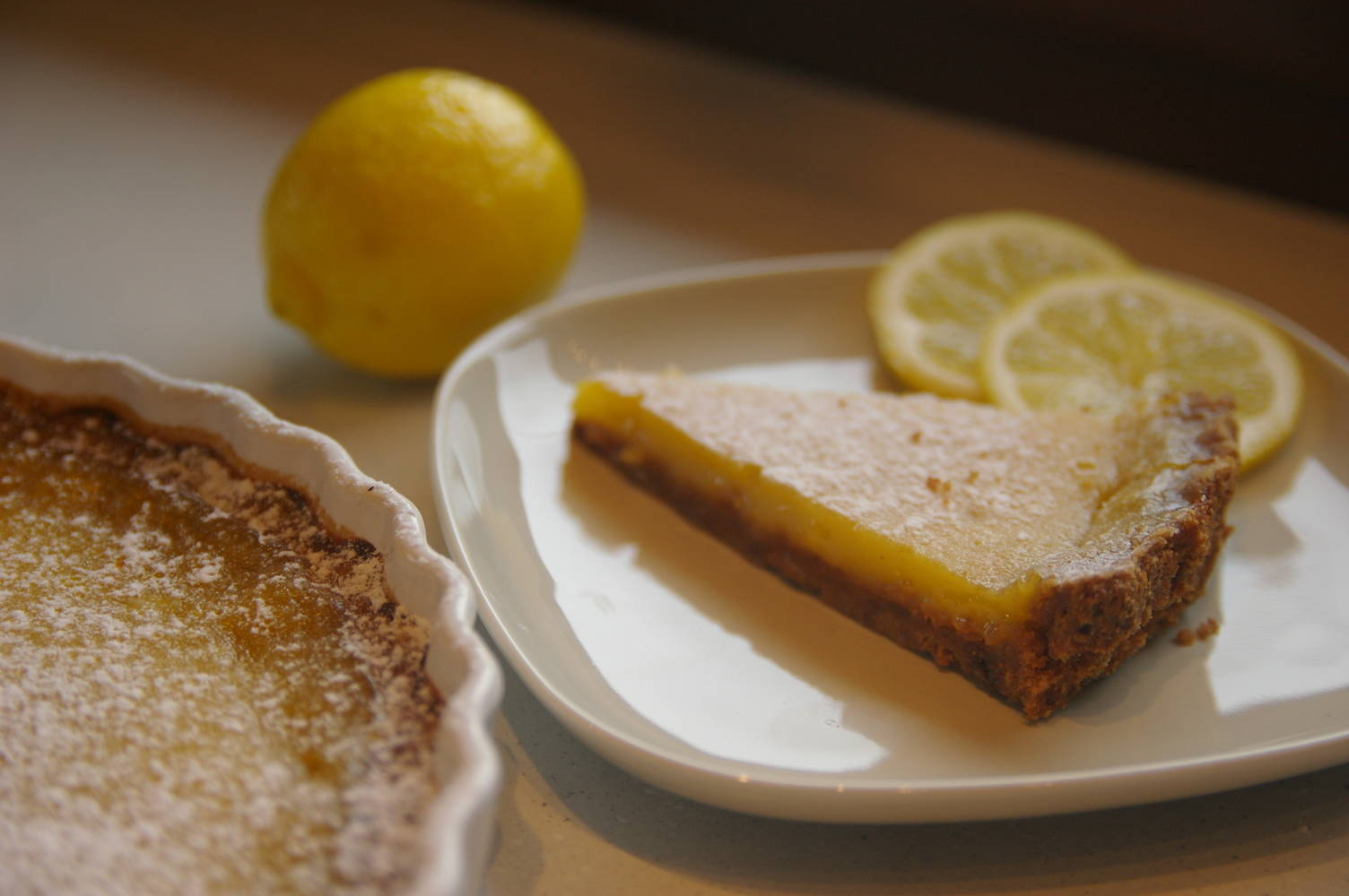 Francia citromtorta recept főfotó