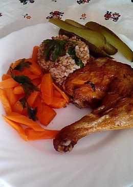 Házi fűszerezésű sült csirke, Kata módra