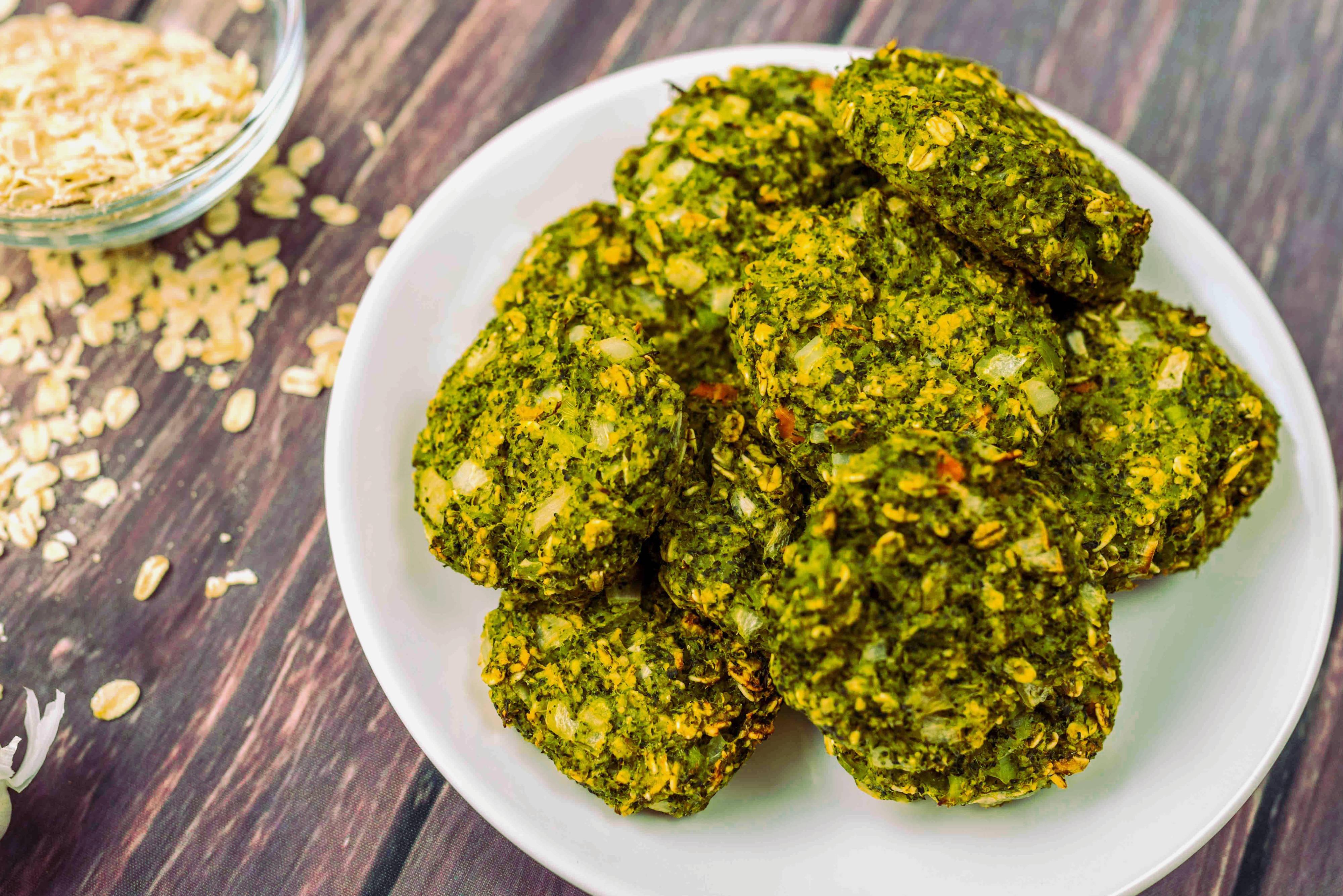 Ropogós brokkoli fasírt recept főfotó