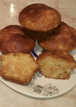 Ancsyka mézes-túrós muffinja