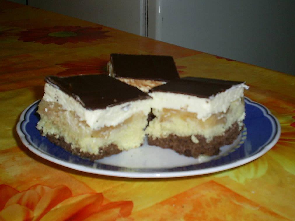 Olga-almás szelet recept főfotó